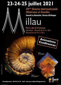 50e Millau International Fossil Minerals Gems Exchange
