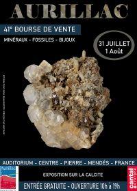 41e Mineralen, Fossielen en Juwelenuitwisseling in Aurillac