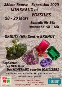38e tentoonstelling van mineralen en fossielen