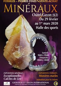 57e Géologic beurs voor mineralen, fossielen en edelstenen