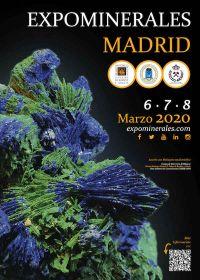 Madrid 2020 minerale tentoonstelling