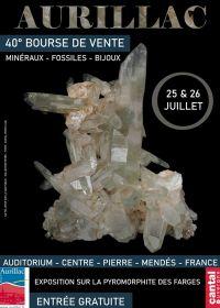40e fossiele mineralen en sieradenbeurzen