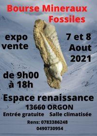 5e Orgon fossiele minerale uitwisseling