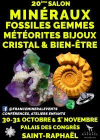 20e Salon MinéralEvent Saint-Raphaël - Mineralen, Edelstenen, Fossielen & Juwelen