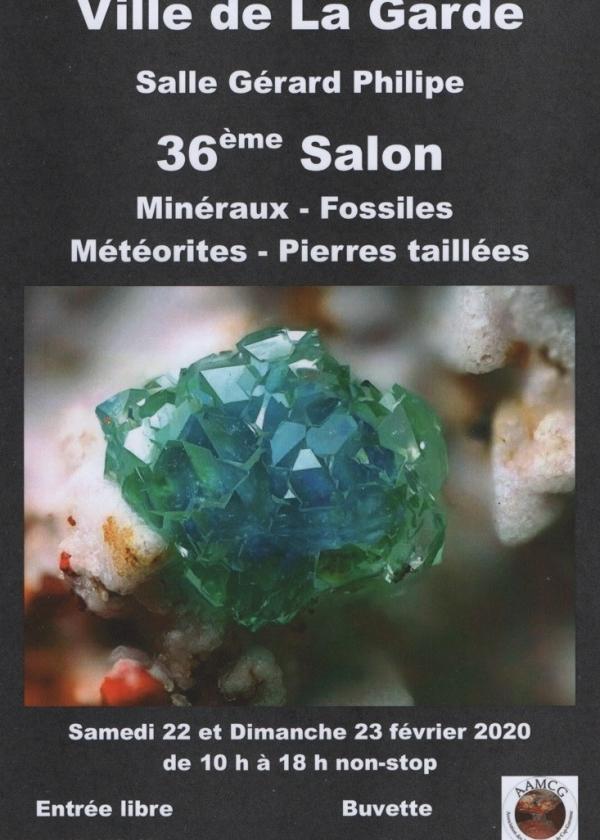 36e minerale en fossiele uitwisseling