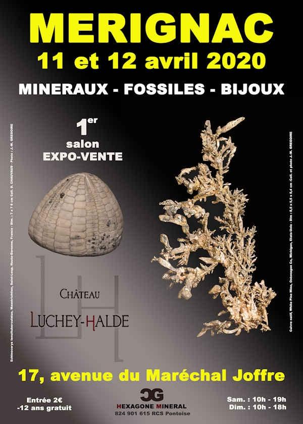 1e editie van de beurs voor mineralen, fossielen en sieraden