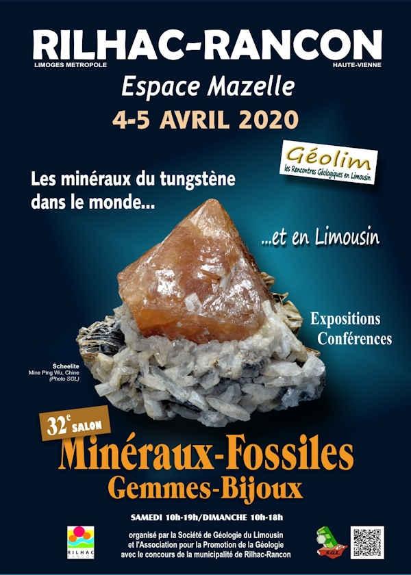 32e tentoonstelling van fossiele minerale edelstenen en sieraden