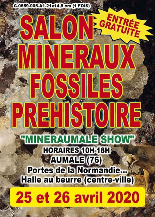 5e beurs Prehistorische mineralen en fossielen tentoonstelling