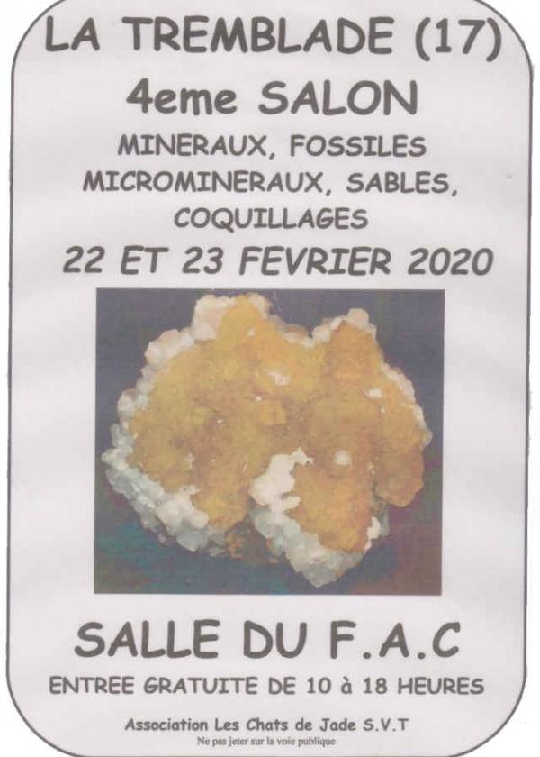 4e beurs voor mineralen, fossielen, micromineralen, schelpen en zand