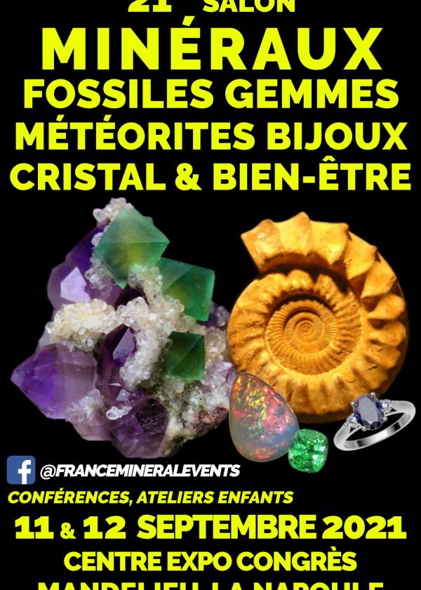 21e Mineralenbeurs Evenement Mandelieu