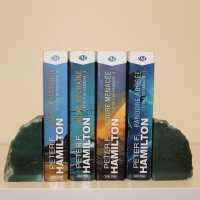 Aventurijn boekensteun 2 stuks
