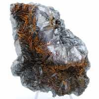 Hematietkristallisatie op hematietgange
