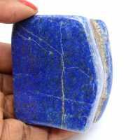 Gepolijste natuurlijke lapis lazuli