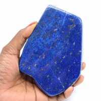 Vrije vorm in Lapis-lazuli
