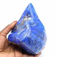Groot sierblok in Lapis-lazuli