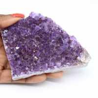Uruguayaanse amethist kristallen