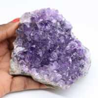 Natuurlijke gekristalliseerde amethist