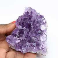 Natuurlijke kristallisatie van amethist