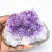 Amethist stenen druse
