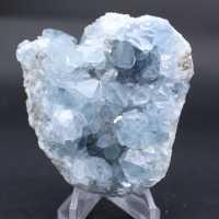 Natuurlijke celestietkristallen