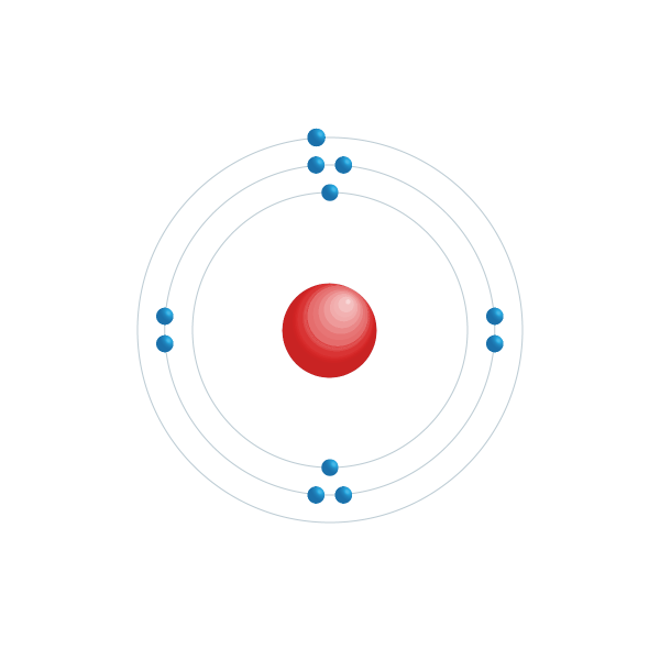 natrium Elektronisch configuratiediagram