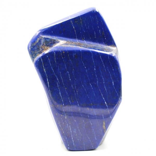 Lapis Lazuli stenen blok sier abstracte vorm
