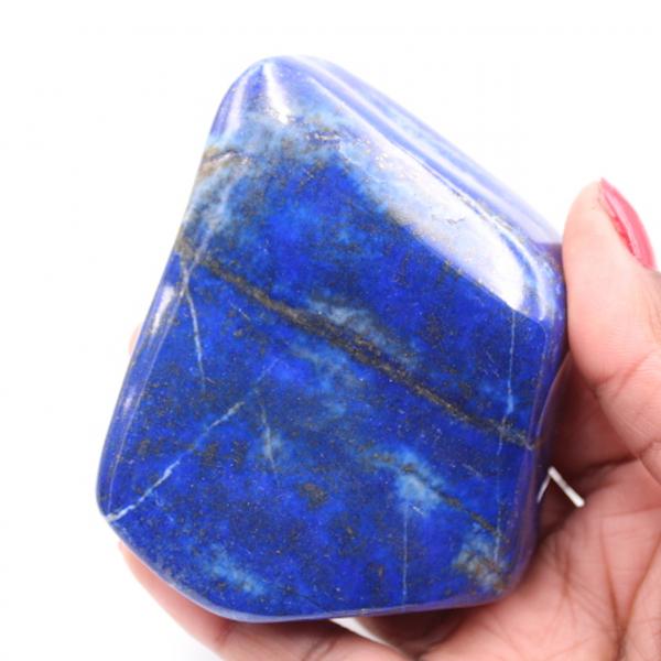 Blok van Lapis Lazuli steen vrije vorm