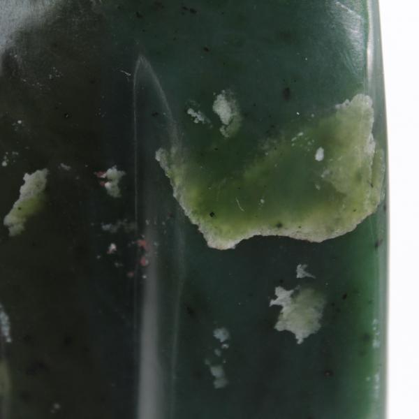 Jade Stone Nefriet vrije vorm van ornament