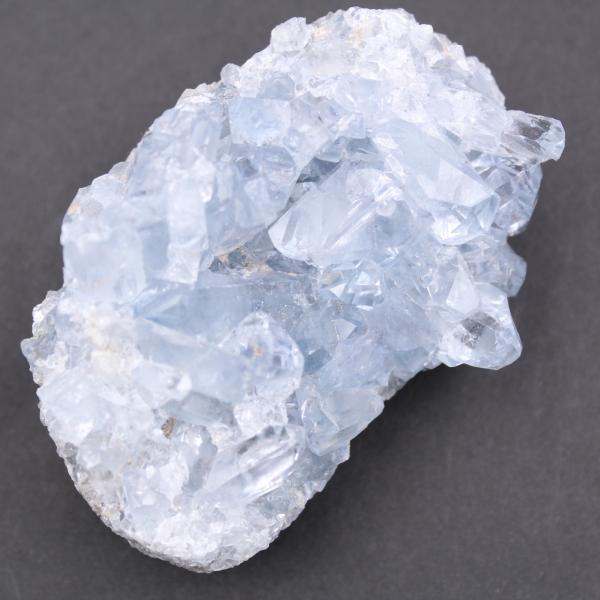 Blauwe celestietkristallen