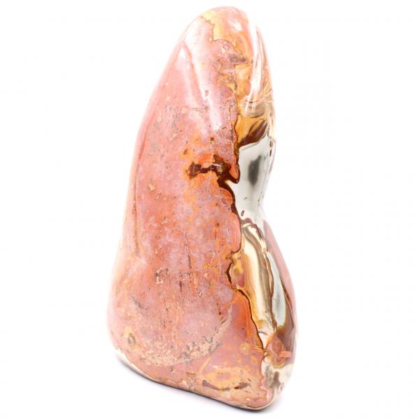 Gedrukt jaspis gepolijst ornamentblok van 4,5 kilo
