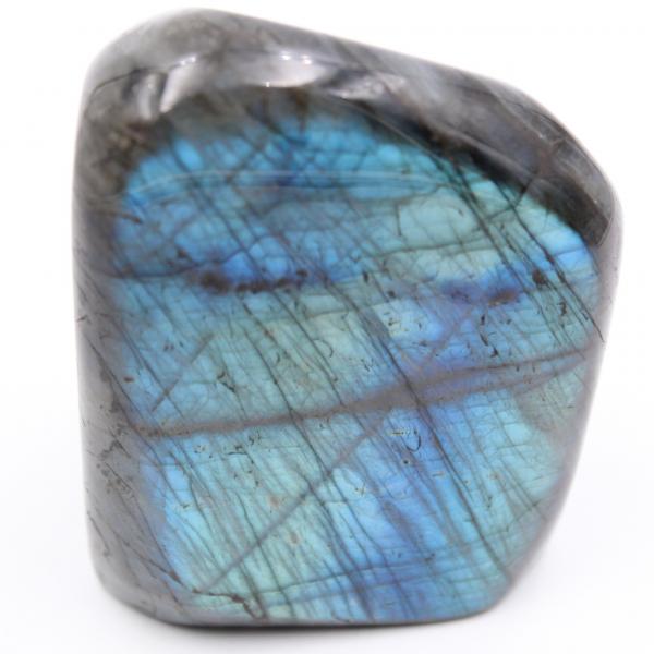 Blauwe labradorietsteen, gepolijste vrije vorm