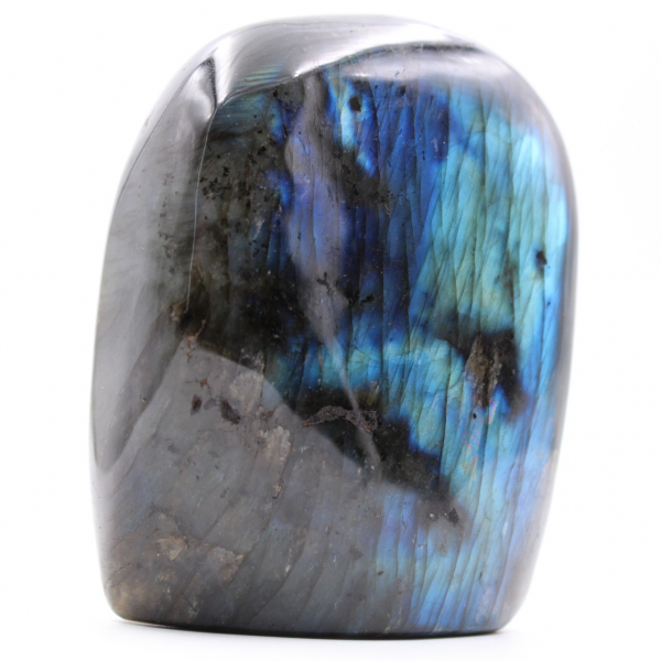 Blauwachtige, vrije vorm labradorietsteen