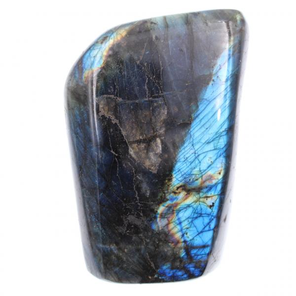 Blauwe labradoriet, decoratieve steen