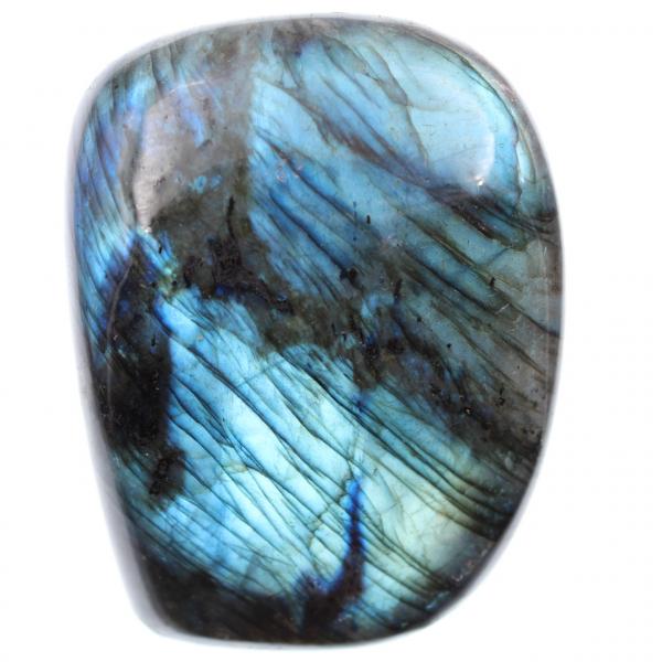 Labradoriet blauwe steen, decoratieblok