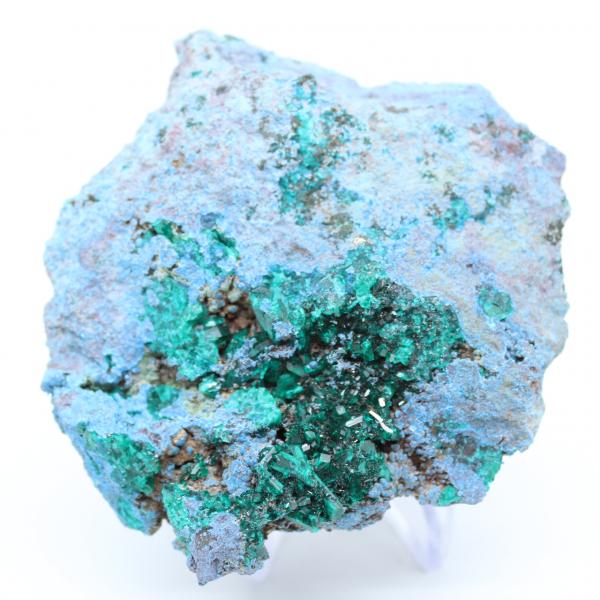 Dioptase-kristallen