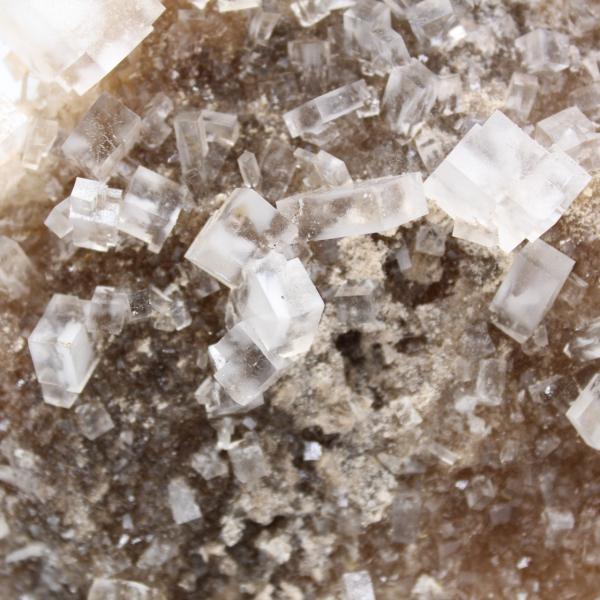 Steenzoutkristallen