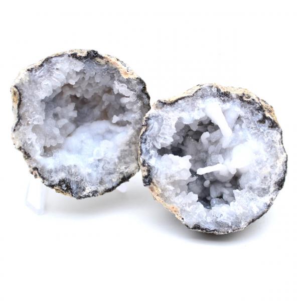 Geode van hele kokosagaat
