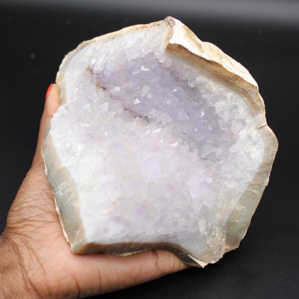 Gekristalliseerde kwartsagaat