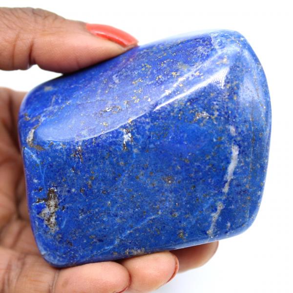 Gepolijste lapis lazuli siersteen