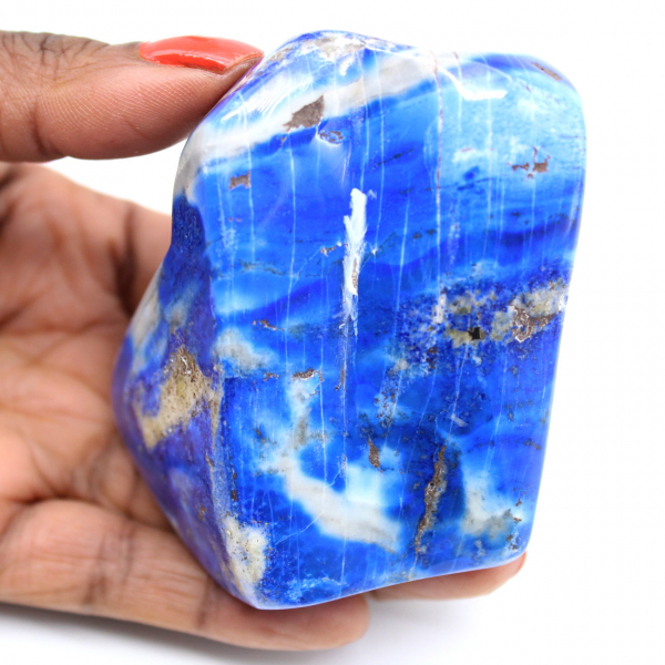 Gepolijste Lapis Lazuli-steen