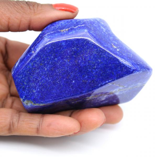 Natuurlijk blok Lapis-lazuli