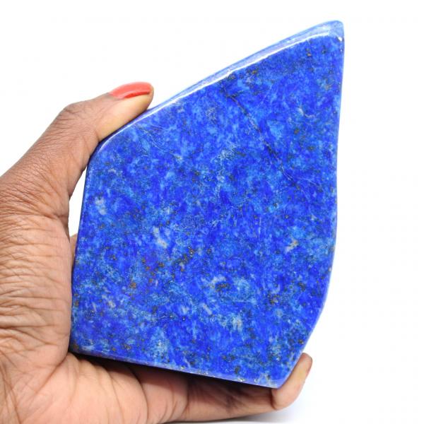 Natuurlijke gepolijste lapis lazuli steen