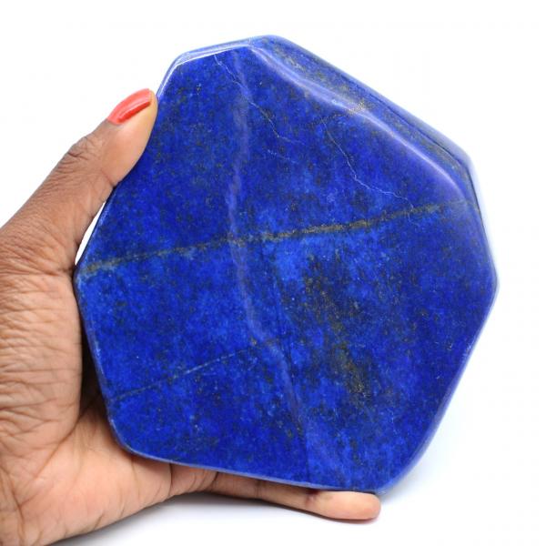 Groot blok gepolijst lapis lazuli voor decoratie