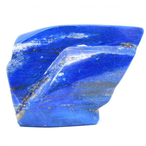Grote decoratieve steen in Lapis-lazuli
