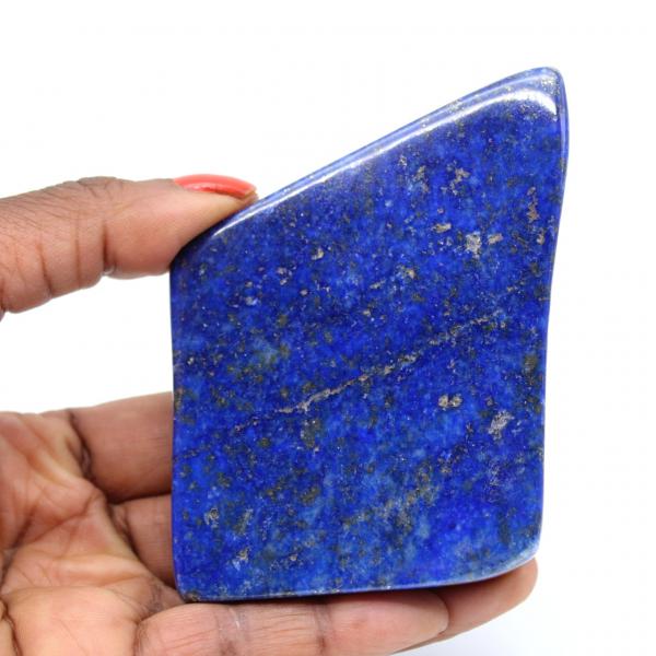Gepolijst lapis lazuli blok