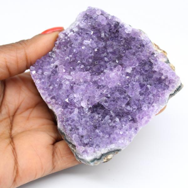 Natuurlijke amethist kristallen